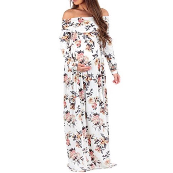 09f3e61644510 Motherbee Maternity Dresses | Mother Bee Maternity Floral Off ...